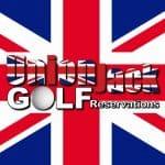Union Jack Golf Logo
