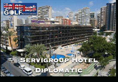 Servigroup Hotel Diplomatic Benidorm Golf Hotel Union Jack Golf Benidorm
