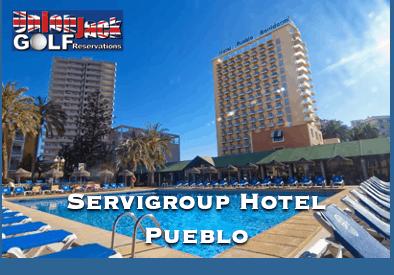 Servigroup Hotel Pueblo Benidorm Golf Hotel Union Jack Golf Benidorm