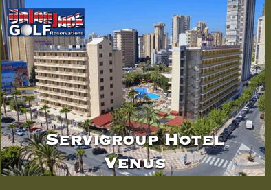Servigroup Hotel Venus Benidorm Golf Hotel Union Jack Golf Benidorm