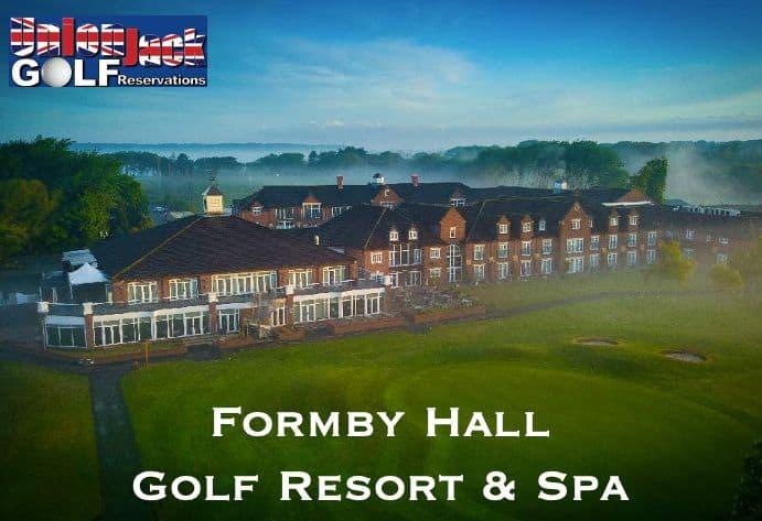 Formby Hall UK Golf Breaks Union Jack Golf Main