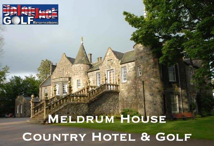 Meldrum House Golf Breaks Union Jack Golf Main