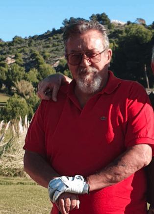 Allan Cain Union Jack Golf Society Handicap commitee Chairman