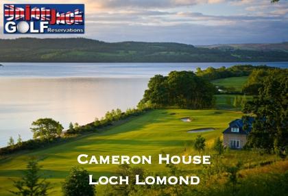 Cameron House UK Golf Breaks Union Jack Golf Main 3